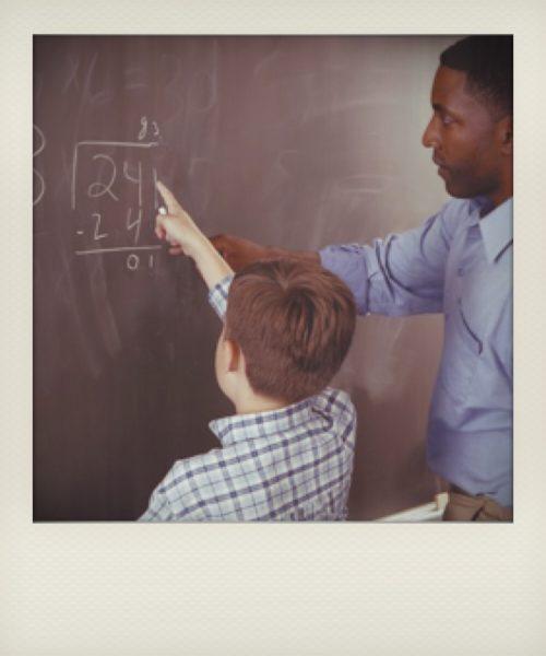 Laboratorio de matemáticas: prueba de la división mágica
