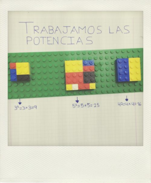 Aprendemos con Lego: Potencias