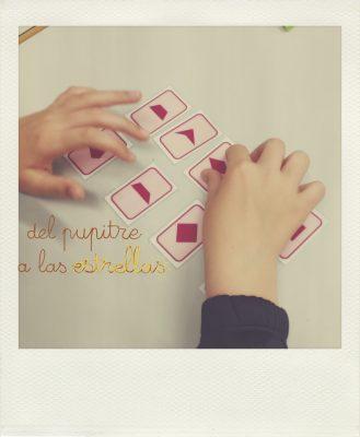 Lab. de matemáticas: Juegos con cartas geométricas