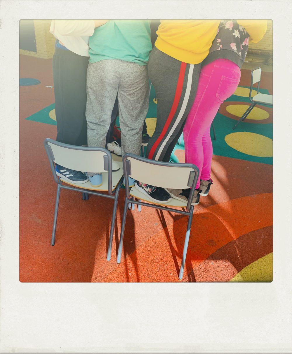 Dinámicas de grupo: Las sillas.