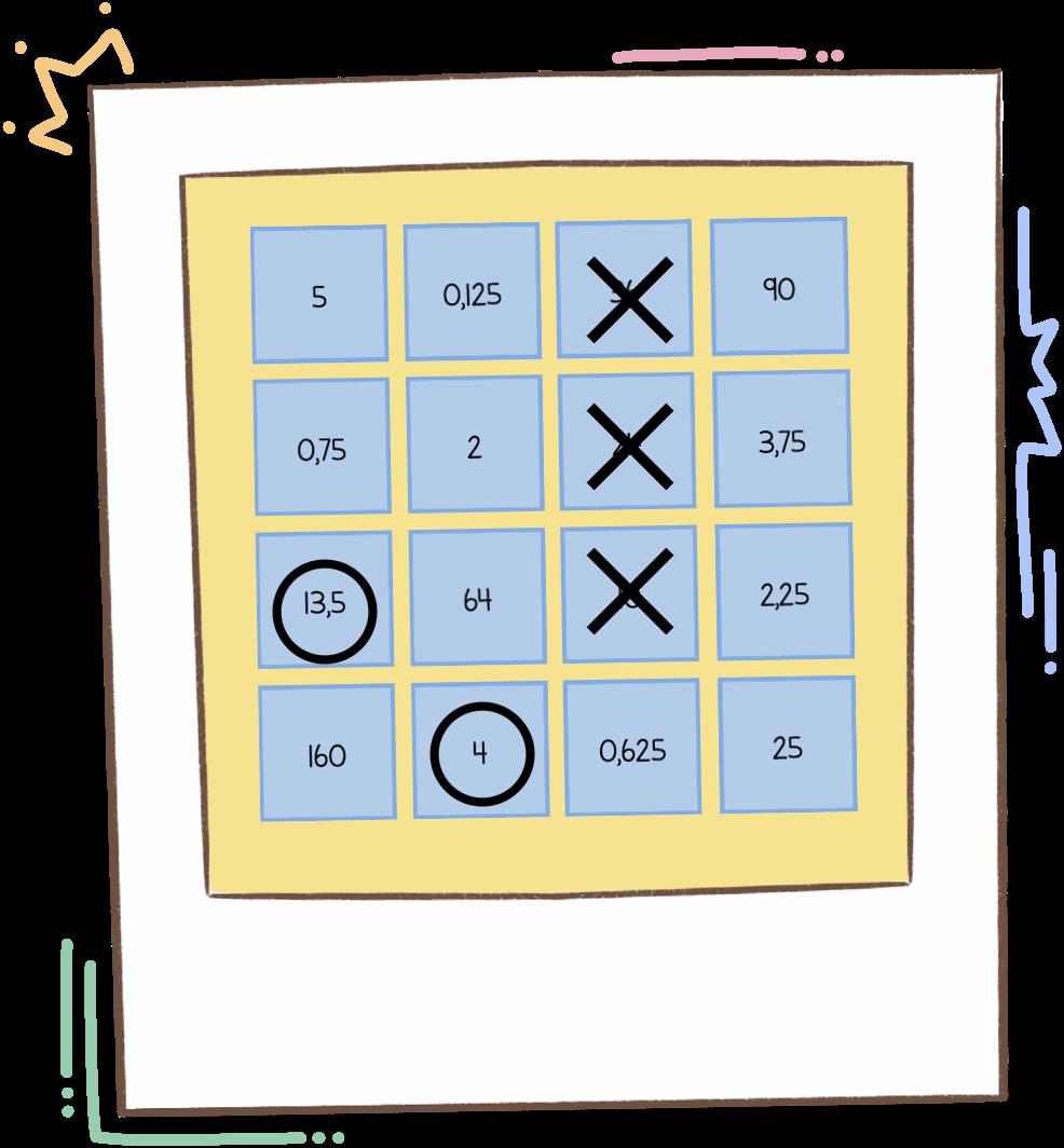 Laboratorio de matemáticas: 3 en raya decimal