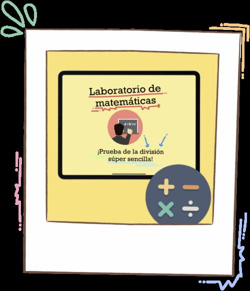 Laboratorio de matemáticas: Prueba de la división súper fácil