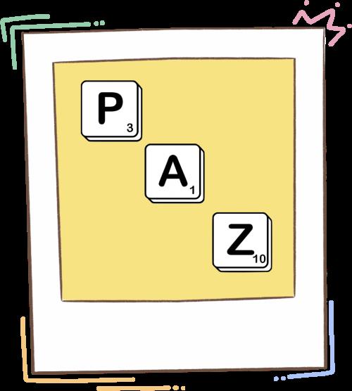 Scrabble de la Paz